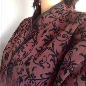 Susan Graver Plus Size 2X Jacket Designer Dressy